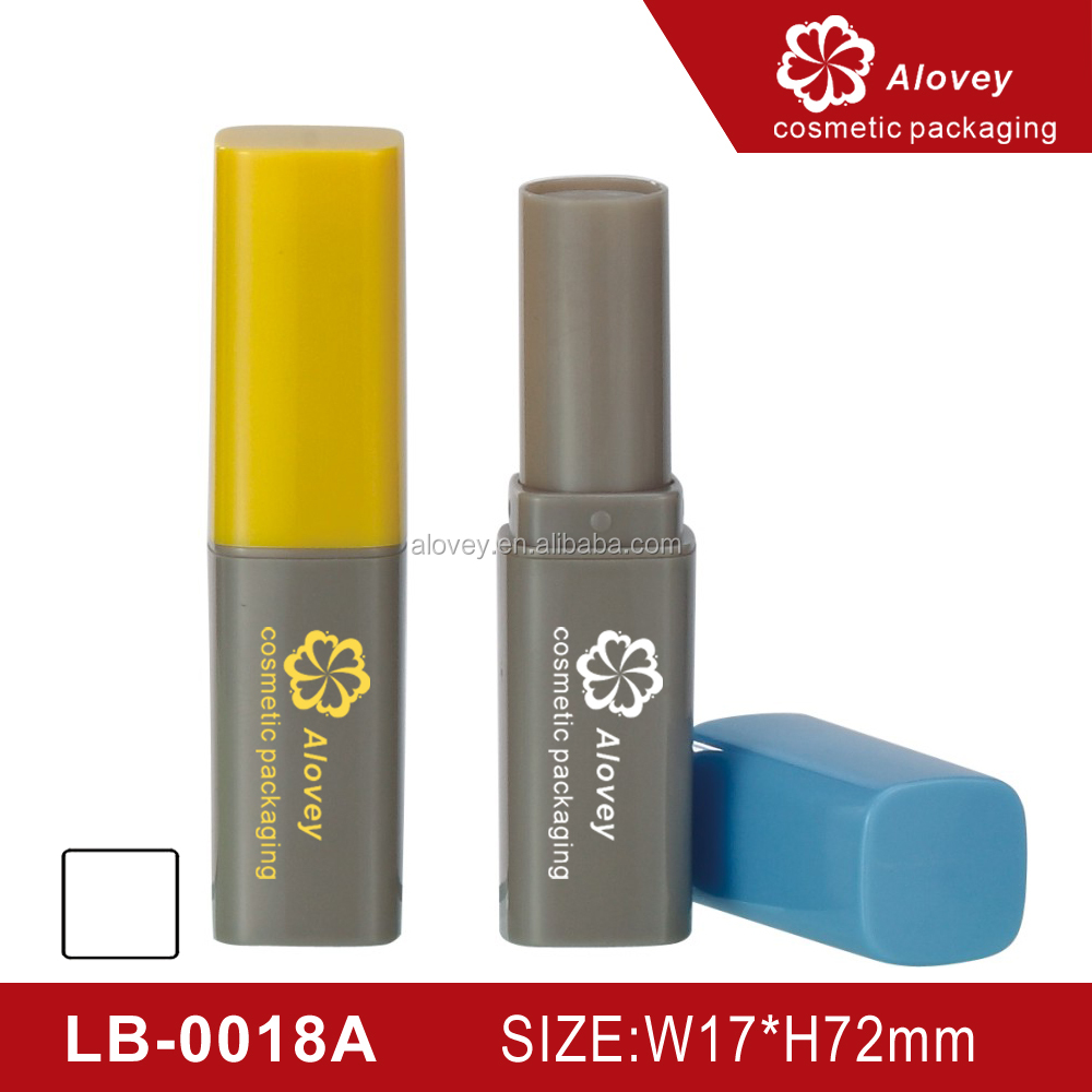 Two color simple cute lip balm container promotional lip balm