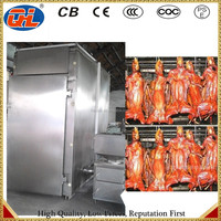NEW High-quality newest China vertical meat smoked furnace|smoked meat curing oven|meat smoking equipment