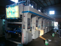 Plastic Film Register Printing Press - Gravure Printing Machine