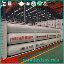 Top Products Hot Selling New 2016 Gas Station Cylinder 10 Tube Cng Cascade Skid Container