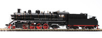 scale train model ho 1/87- live steam locomotives
