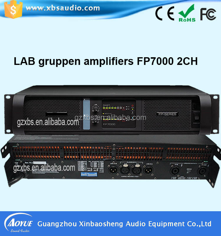 audio pro amplifier professional power amplifier Fp7000 2 Channel 8ohms Stereo Power 1500watts
