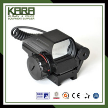 Red and Green Dot Reflex Sight with Laser