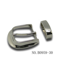 types of belt pin buckle/30mm belt buckle/simple belt buckle
