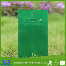 Transparent Green Color Clear Coat Thermoplastic Paint