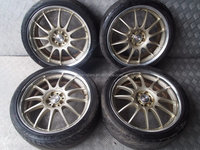 USED JDM Work VSX 18x7.5jj +50 5x100 Wheels JDM Rims for GDB GDA GGA GC8 B4 BL5 RARE