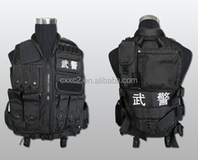 1000D black Nylon Military Molle tactical veste, Army Combate Tactical Vest Gear