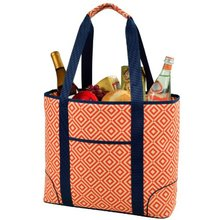 Fashion travel custom tote large insulated canvas cooler bag