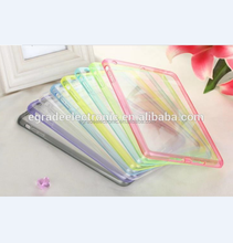candy color dust-proof TPU case transparent protective PC case tpu gel case for iPad Air 5