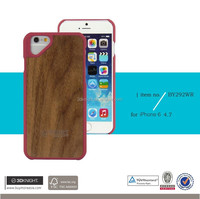 Plastic,wooden pc Material custom for iphone cover