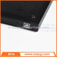 ECD002-DW China Wholesale Lower Price USB 2.0 DVD Burner External Slim DVDRW CD DVD ROM Drive