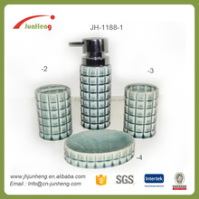 Bathroom sets ceramic price bathroom accessories, green bathroom accessories set