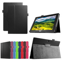 "PU Leather Folio 2-folding Stand Cover for 10.1"" Acer Iconia Tab 10 A3-A30 Android Tablet"