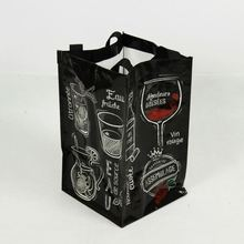 OEM Good Quality PP Woven Recylcable Durable Waterproof Wine Bag