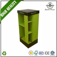 retail pocket paper display rack/cardboard floor display/ corrugated carton stand/shelf/holder/brochure/frame