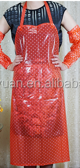 Top Selling Christmas Transparent Pvc Apron