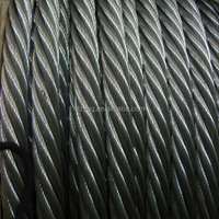 6x19S 6x36WS ungalvanized mooring rope for ship 6x19S tugboat rope