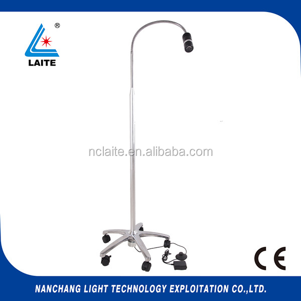 7W New Portable Dental Floor-footswitch exam lamp Surgical Lab Equipment