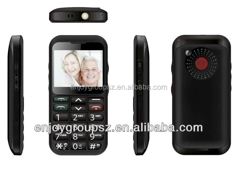 2.3'' loud speaker cheap mobile phone for old age people