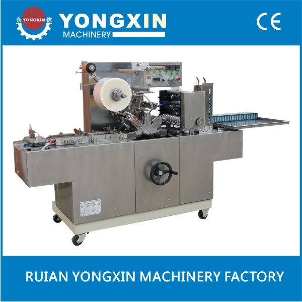 cellophane wrapper machine with printed film