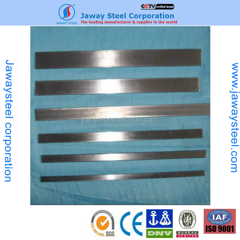 Bus inside and outside packaging and building bright finish 304L stainless stee flat bar