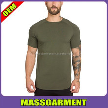 Olive t shirt wholesale blank t shirt men clothes