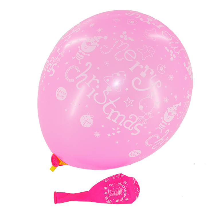 wholesale good quality merry <strong>christmas</strong> printed balloons