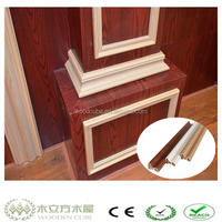 WPC like wood moulding inlay, wood picture moulding
