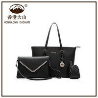 Hot sell ladies wallet ladies pars hand set bag, handbag set, ladies hand bags ladies handbags sets made in china