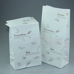 Custom kraft paper bag in packaging bag direct contact food bag