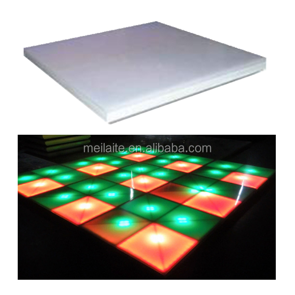 portable LED Dancing Floor 720pcs 10mm RGB led stage light dance floor