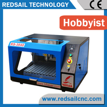 mini desktop cnc router for PCB aluminum brass materials from best manufacturer directly