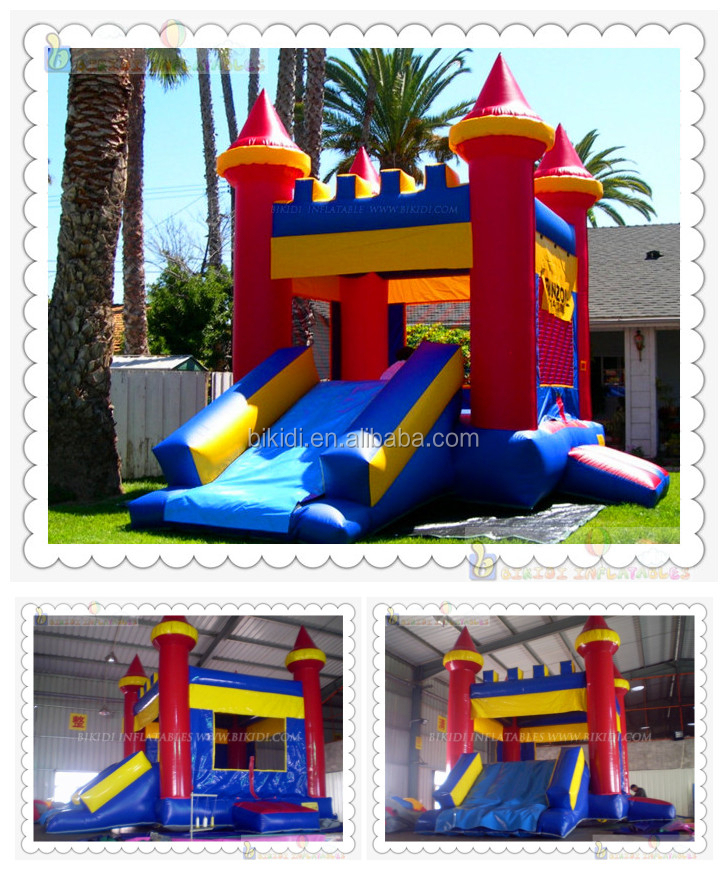 2015 inflatable castle, inflatable bounce house, used commercial inflatable bouncers for sale B1087