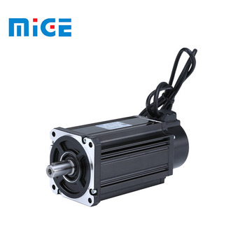 MIGE 2019 new ac brushless servo motor 80mm 1kw 3000rpm
