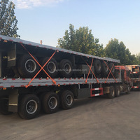 40ft Flatbed Semi Trailers For Container