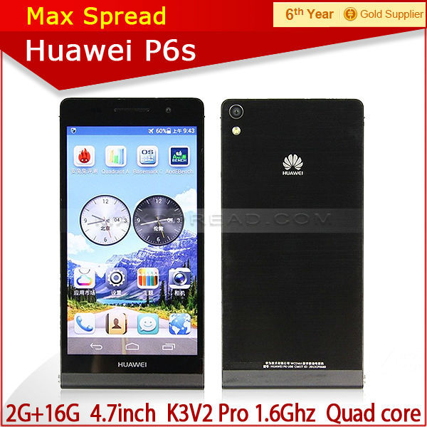 original Huawei P6S Android 4.2 3g wcdma android handphone