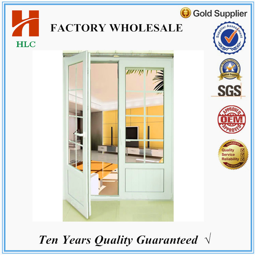 Foshan HLC factory price office swing half doors