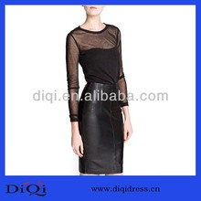 2014 Summer Sexy Transparent Net Garment Buyer in USA Woman Clothing