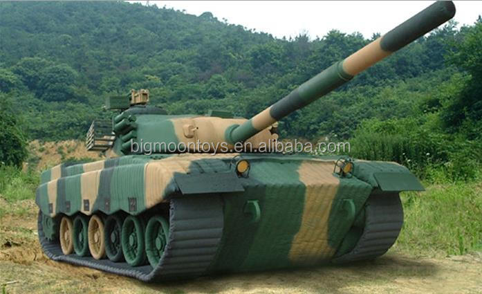 inflatable army tank/inflatable military decoy/military T96 inflatable dummy