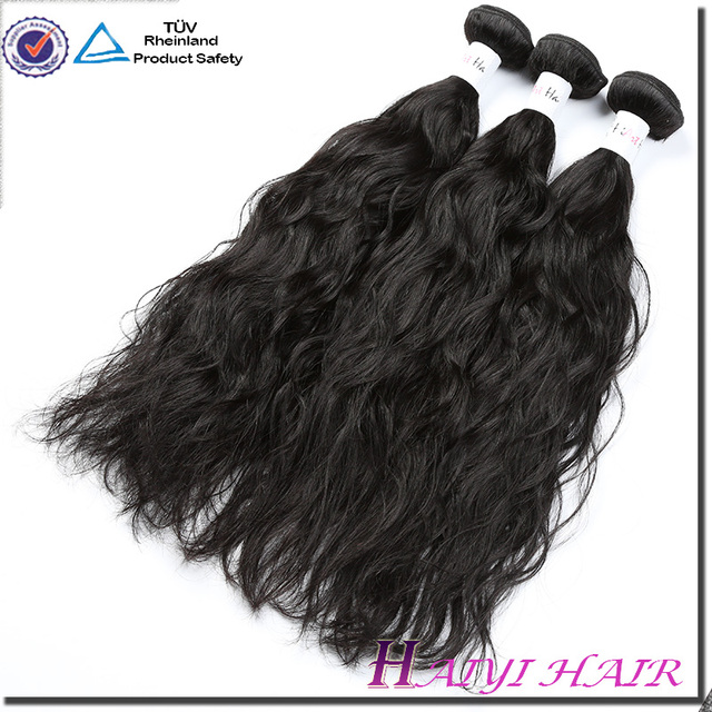 Latest 8A 9A 10A Weft Hair High Quality Virgin Hair Vendors Raw Natural Indian Wavy Hair