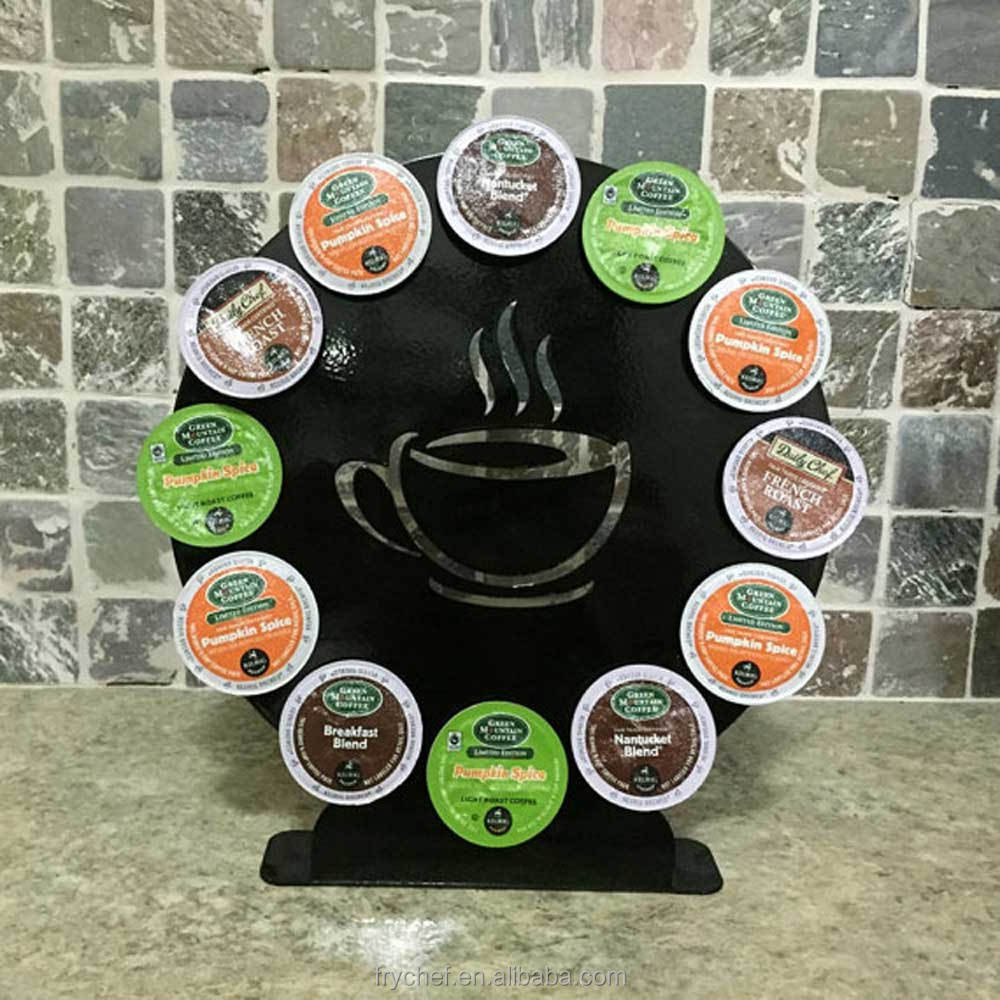 K Cup Coffee Capsule Stand Metal F0130