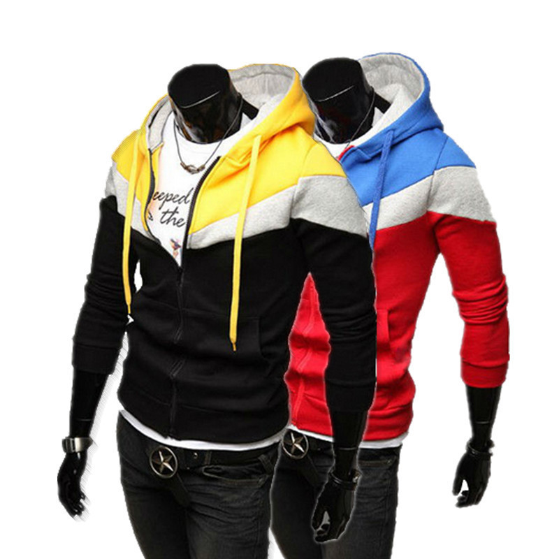 RT 2015 Fasion and Active Mens Hoodies breasted Mens hollistic Hoodies casual Jacket Coats Cotton M-XXL WZW19