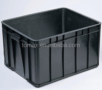 Big plastic storage box storage container for factory and warehouse
