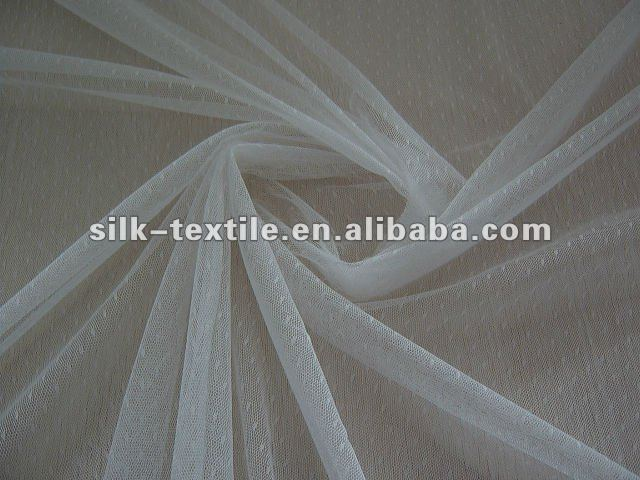 Soft Jacquard tull in 100%polyester