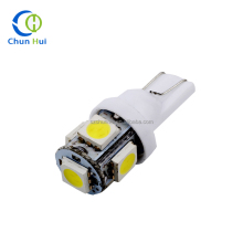 Most Popular Auto Led Bulb 12V White 5050 Wedge Light Led Car Light T10