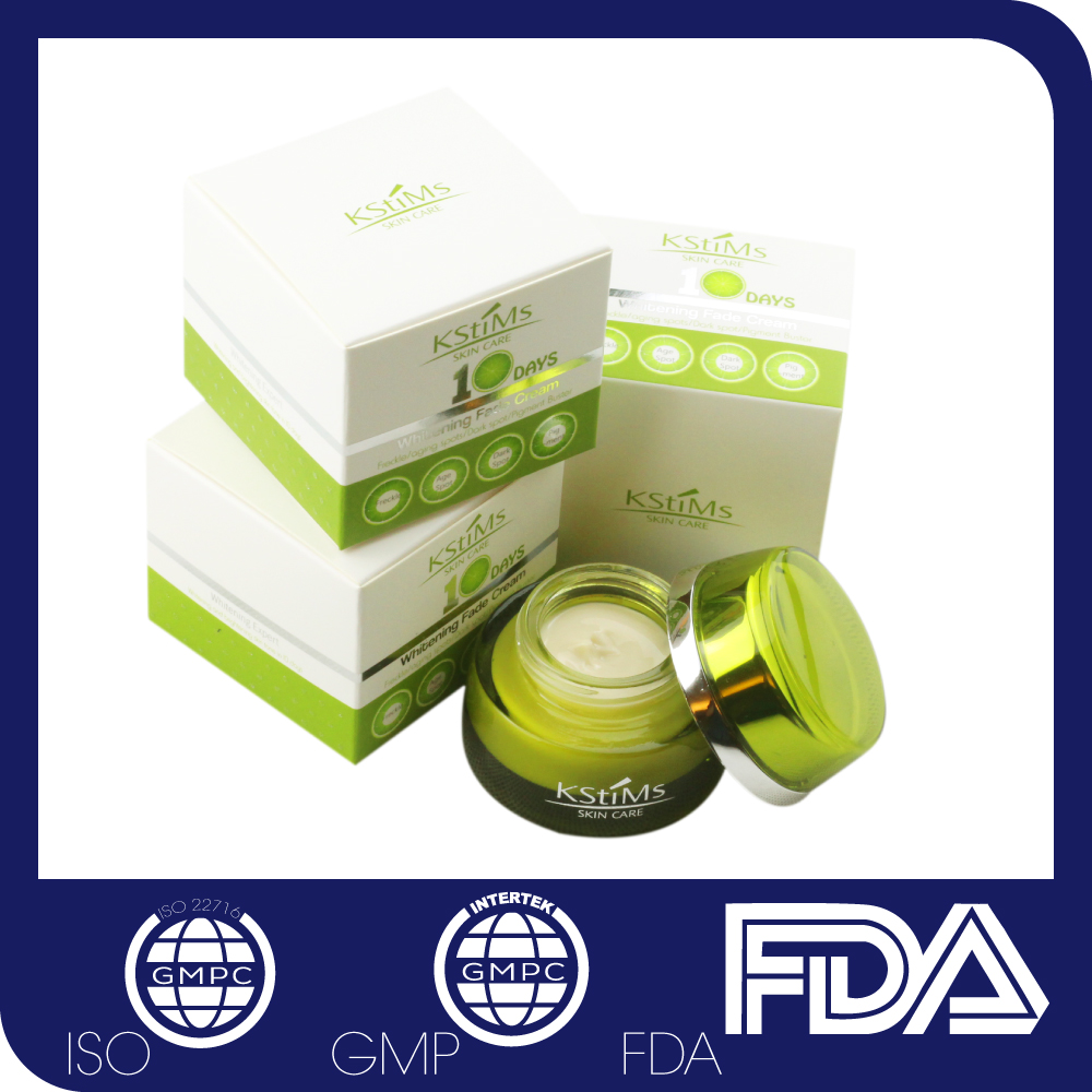 Melanin anti-freckle pigmentation speckle removing whitening cream