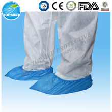Medical Disposable CPE Shoe Cover/Overshoes ,anti skid footwear,rain shoes cover