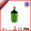 Non-toxic, non-caustic football T-shirt gel bottle cooler with PVC material