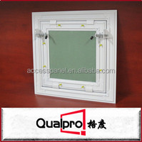 Powder coating Finished Aluminum Ceiling Access Panel with spring Bolt Control Handle Lock AP7720