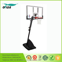 adjustable basketball system